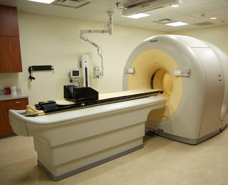 Case study york hospital cancer center for X ray room decor